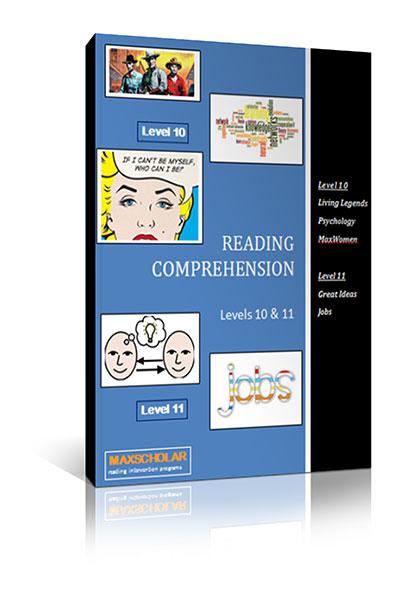 Reading Comprehension Level 10-11