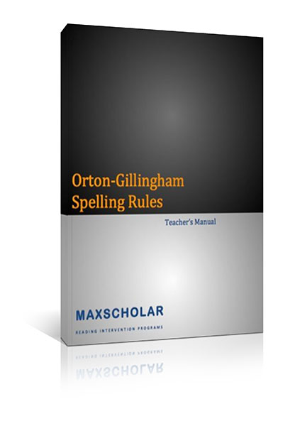 Teacher's Manual Spelling Rules