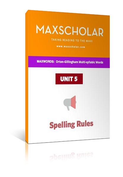 orton gillingham spelling rules